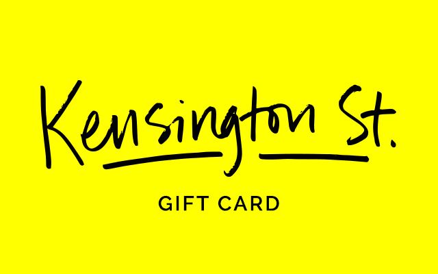 Kensington Street Gift Card graphic
