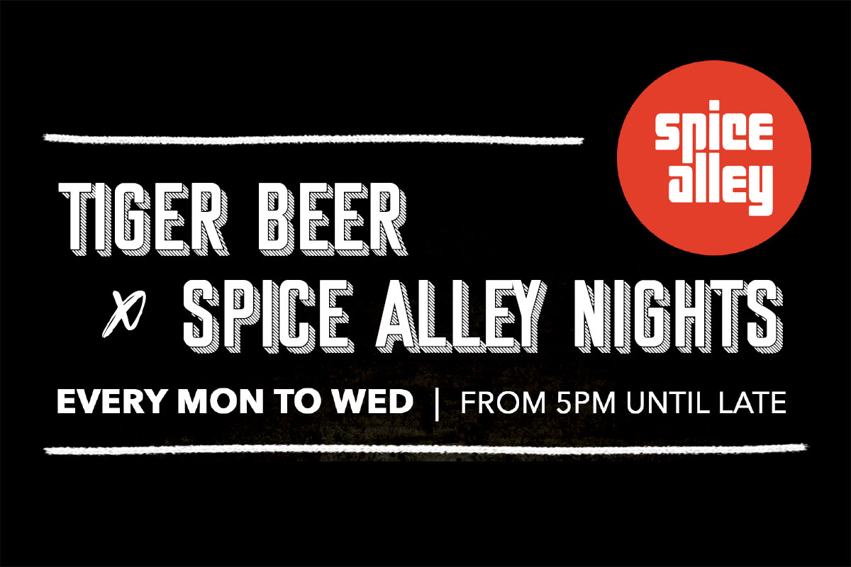 Tiger Beer x Spice Alley Event